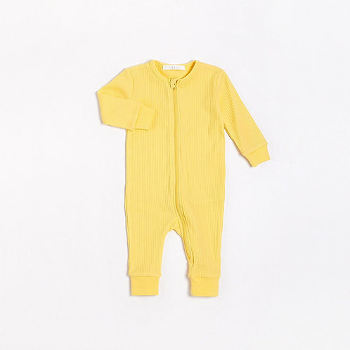 Sole Mio Long Sleeve Romper with Organic Cotton