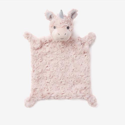 Pink Unicorn Flat Blankie