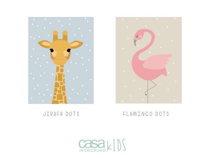 Jirafa / Flamingo
