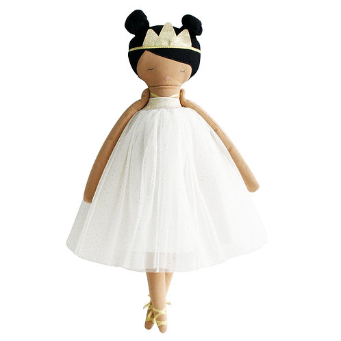 Pabdora Princess Doll Ivory Gold