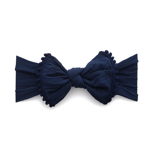 Navy Trimmed Knot