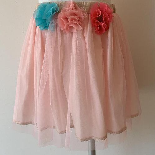 Pink Floral Tutú