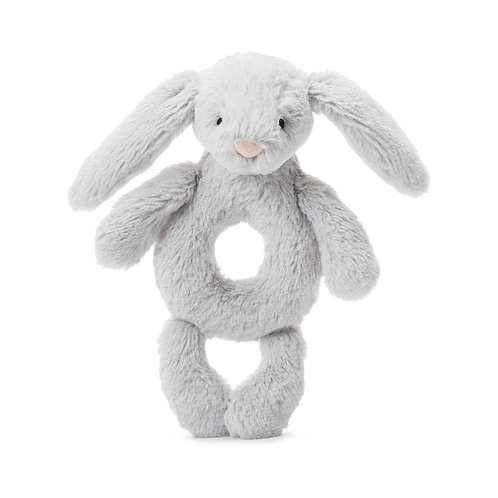 Bashful Grey Bunny Grabber