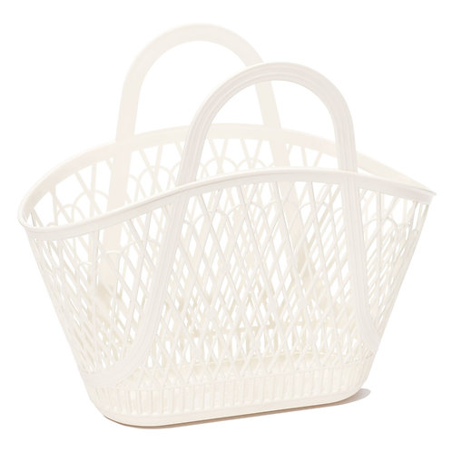 Cream Betty Basket Bag