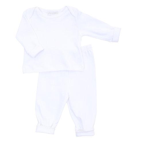 Essentials White 2pz Loungewear
