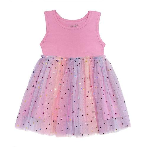 Princess Dress Sleeveless Pink