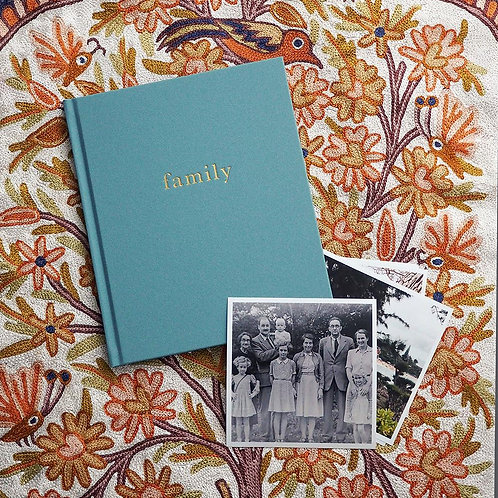 Our Family Book BLUE