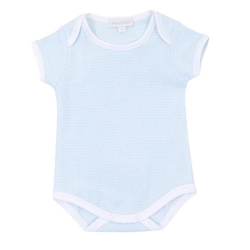 Mini Stripe Blue Bodysuit