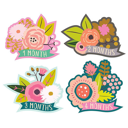 Monthly Stickers Little Blossom