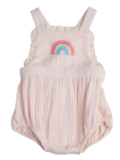 Rainbow  Muslin Bubble
