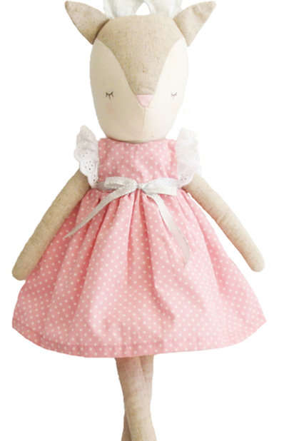 Pink Girl Reindeer