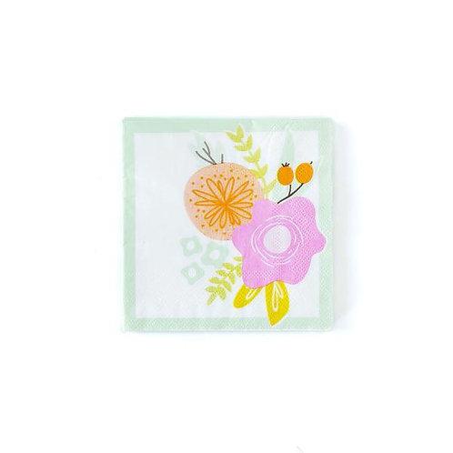 Spring Floral Napkins