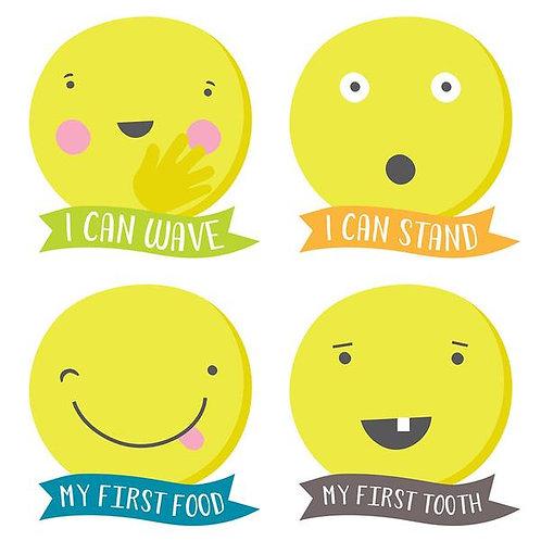 Tiny Texter Milestone Stickers