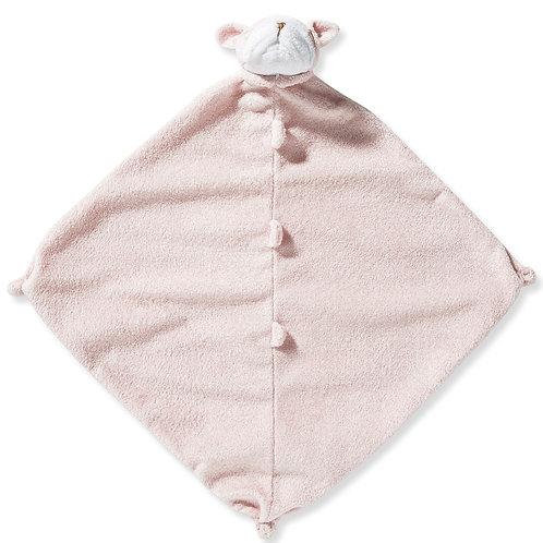 Pink Bulldog Blankie