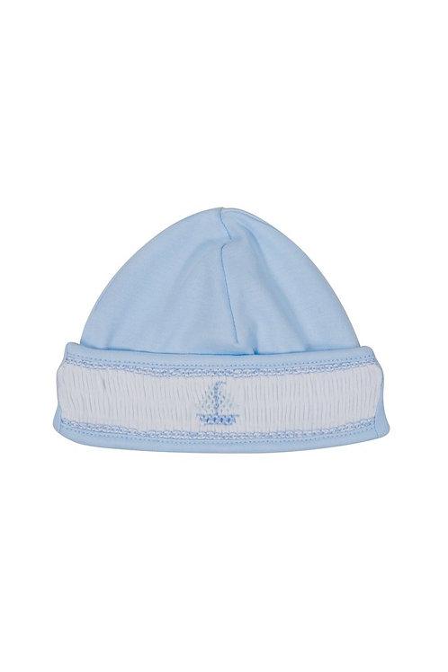 Sailboat Smocked Hat