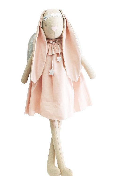 Celeste Angel Bunny Pink Silver