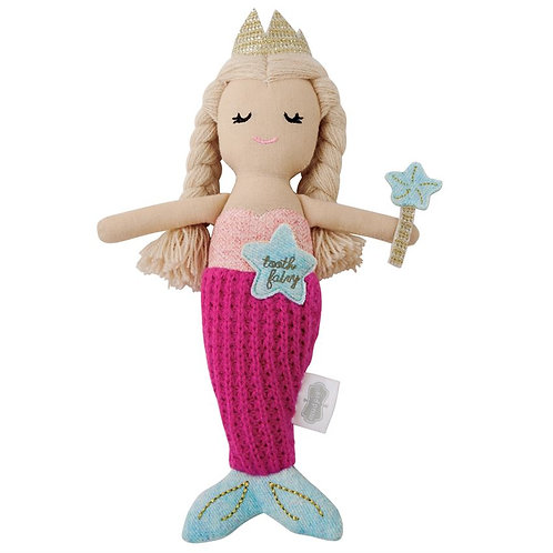 Mermaid Tooth Fairy Doll