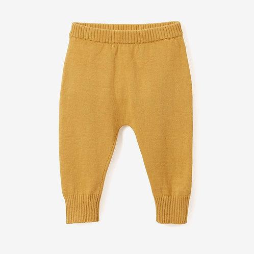 Knit Mustard Pants