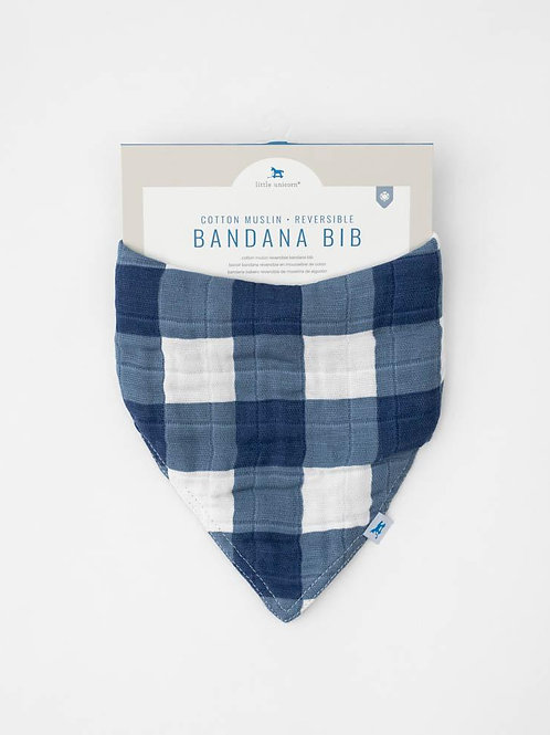Jack Plaid Reversible Bandana