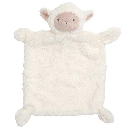 Cream Lamb Flatso