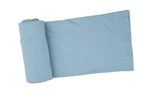 Solid Blue Swaddle Blanket