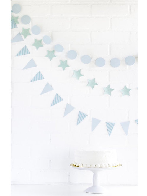 Sky Mini Party Banner Set