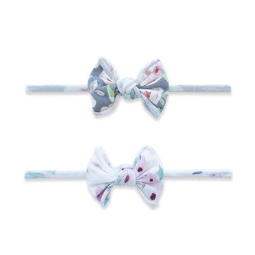 Soft Floral 2pz Mini Knot