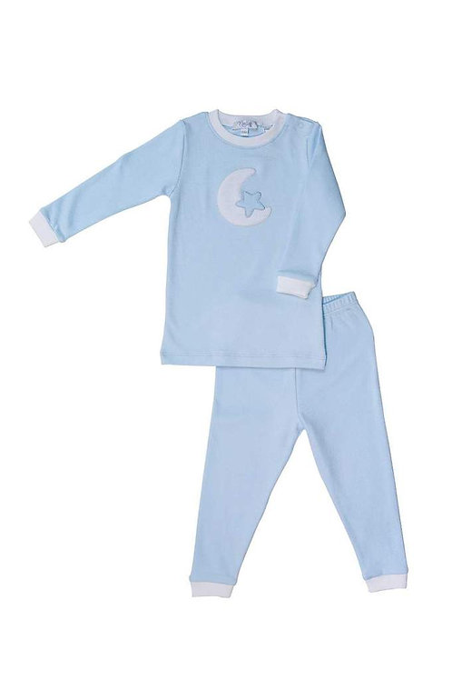 Moon Blue Pajamas