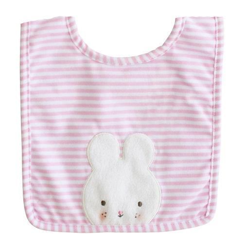 Baby Bunny Bib Pink