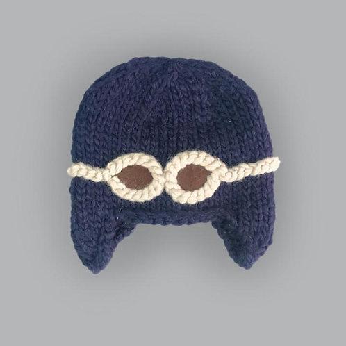 Wilbur Aviator Googles Knit Hat