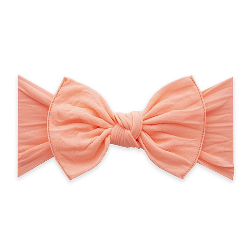 Neon Coral Classic Knot