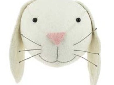 Semi- Ivory Bunny Head