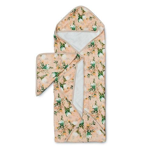 Blushing Protea Hooded Towel Set