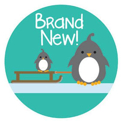 Newborn Stickers Little Penguin