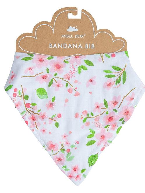 Cherry Blossom Bandana Bib