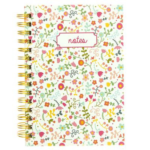 Doodle Floral Hard Cover Journal