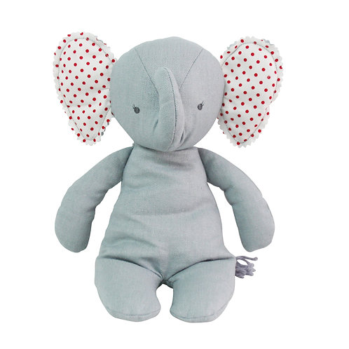 Baby Floppy Grey Elephant