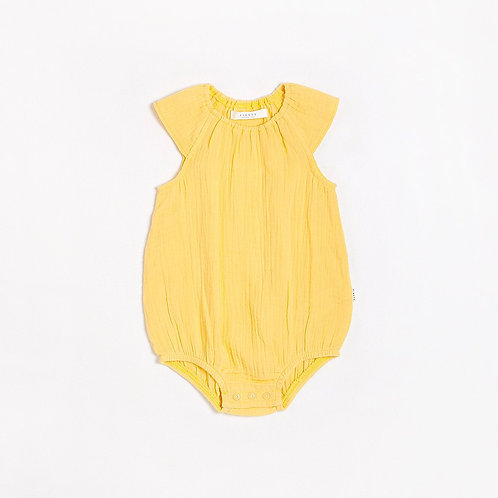 Sole Mio Bubble Romper with Organic Cotton