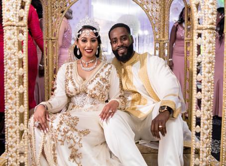Vrai mariage : Sarah & Woodny, un voyage entre le Maroc et Haïti !