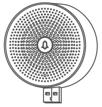 Wireless Klingelgong für Cardea Video Türklingel