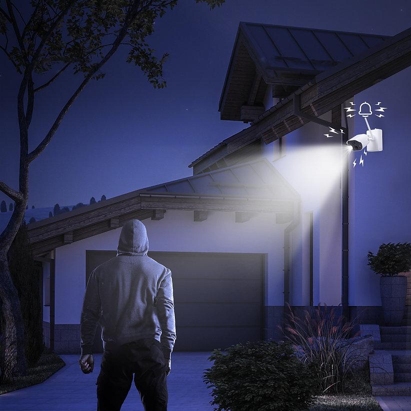 Flutlicht Kamera