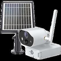 Überwachungskamera Solar