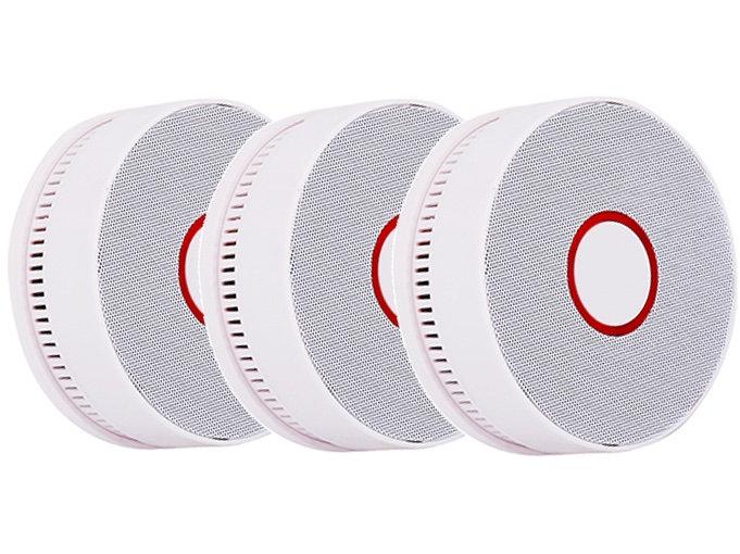 10-Jahres Rauchmelder - WP 518 (White) - 3er Set