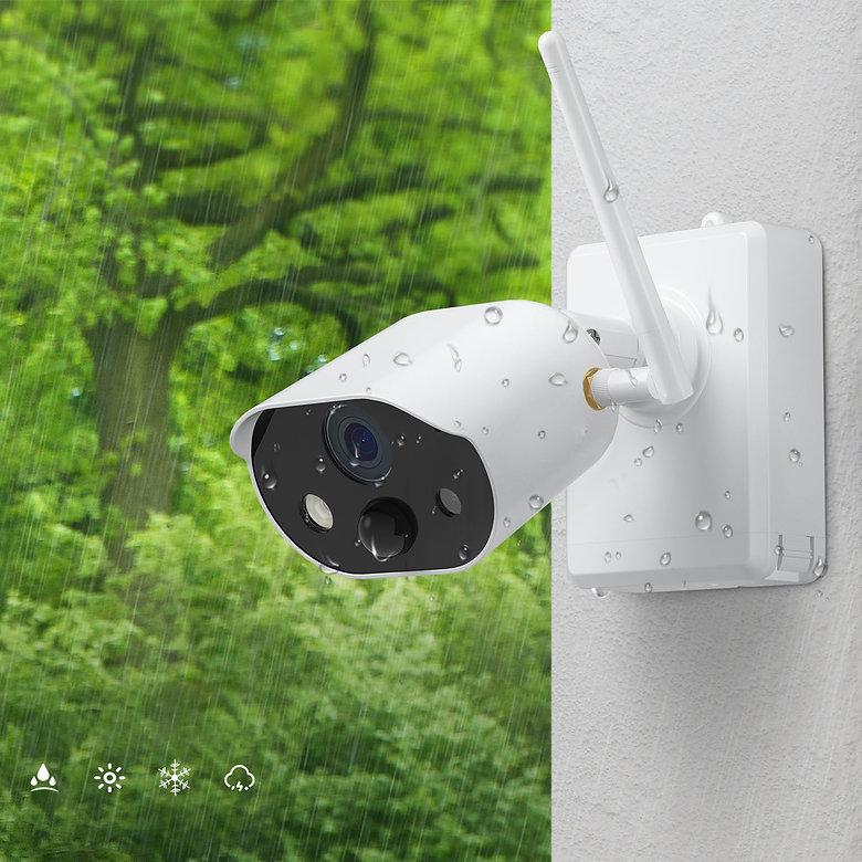 Überwachungskamera Garten