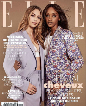 ELLE FRANCE 02/2021 - with CHRISTELLE YAMBAYISA