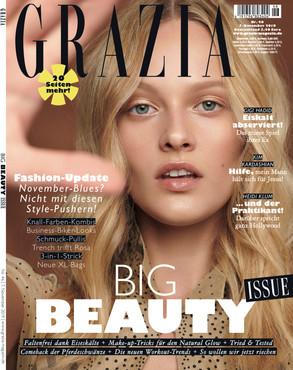 GRAZIA MAGAZINE 11/19 - with VIVIEN WYSOCKI