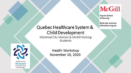 Quebec Healthcare System & Child Develop