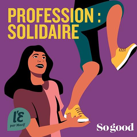 profession solidaire, Macif, sogood magazine, illustration, illustratrice, nelly garreau, angers, paris, graphiste