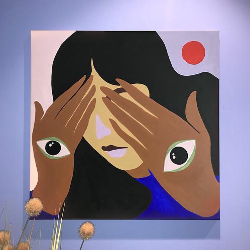 Clairvoyance / Acrylique sur toile