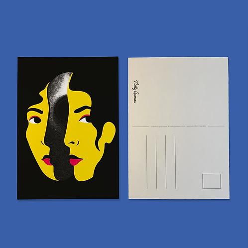 "Carte Postale ""Mindless"""
